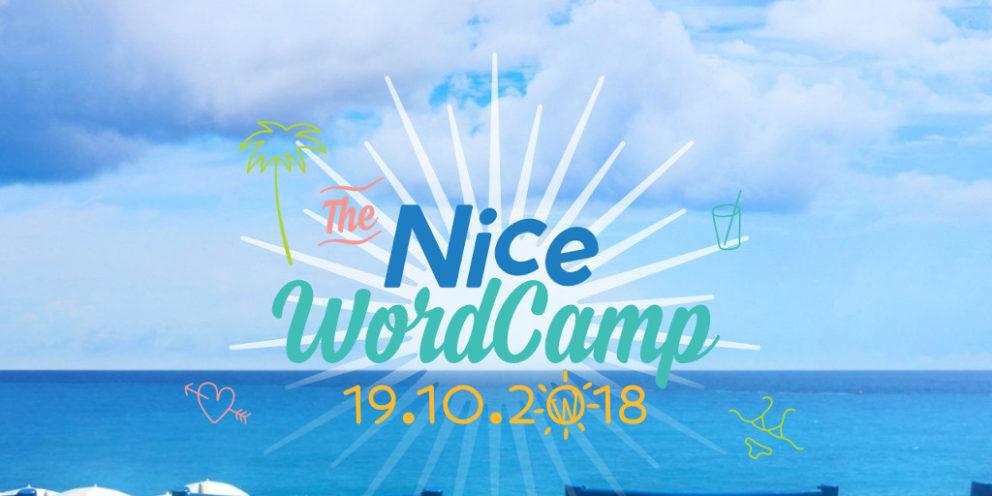 WordCamp Nice 2018: ma première participation en tant qu'orateur!