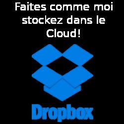 Faites vous parrainer à Dropbox et gagnez 500Mo de stockage en ligne supplémentaire