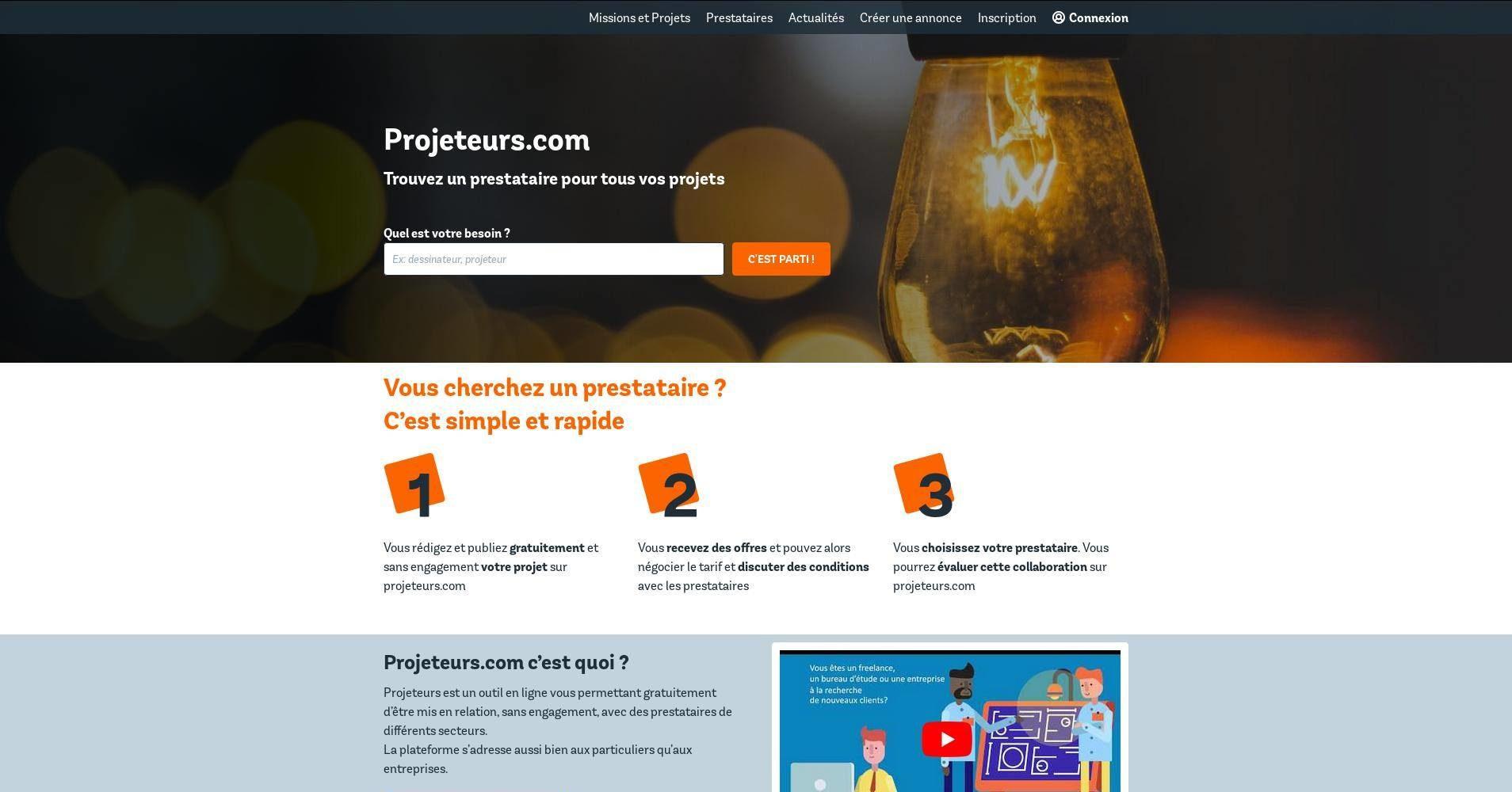 Projeteurs.com - ThivInfo