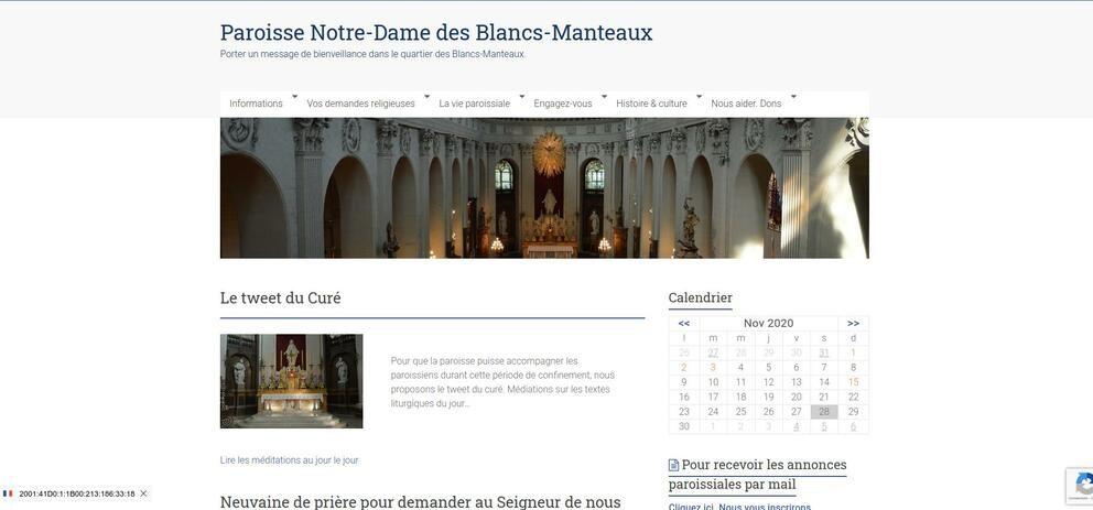 Paroisse Notre-Dame des Blancs-Manteaux
